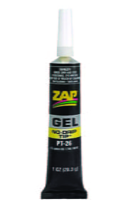 ZAP Glue - Gel, 1 oz.