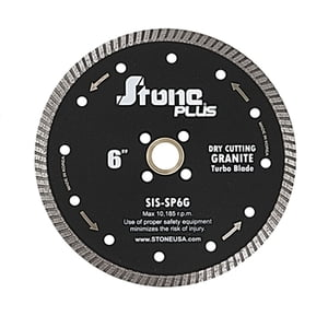 Stone Plus Granite Turbo Blade - 6""