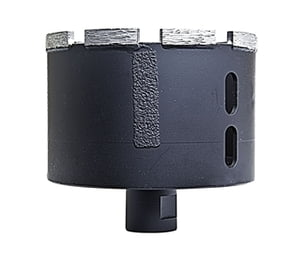Stone Plus Dry/Wet Core Bit w/ side protection - 4""
