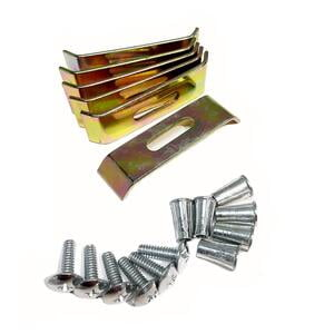 Stainless Steel Sink Clips - 10pc
