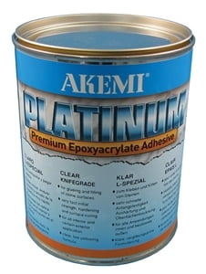 Akemi Platinum Flowing Adhesive - Transparent, 900 mL