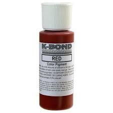 Adhesive Color Pigment - Red, 2 oz