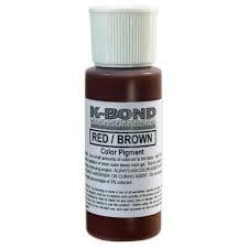 Adhesive Color Pigment - Red/Brown, 2 oz